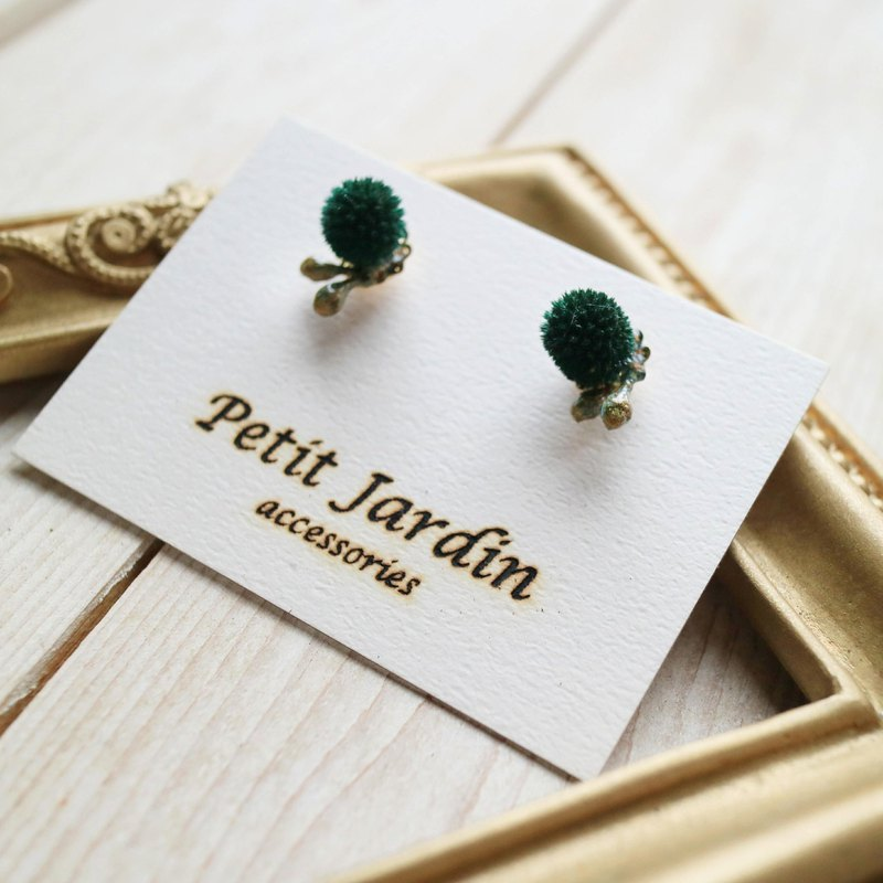 | Flower Lady | Dry Flower Ear Pin