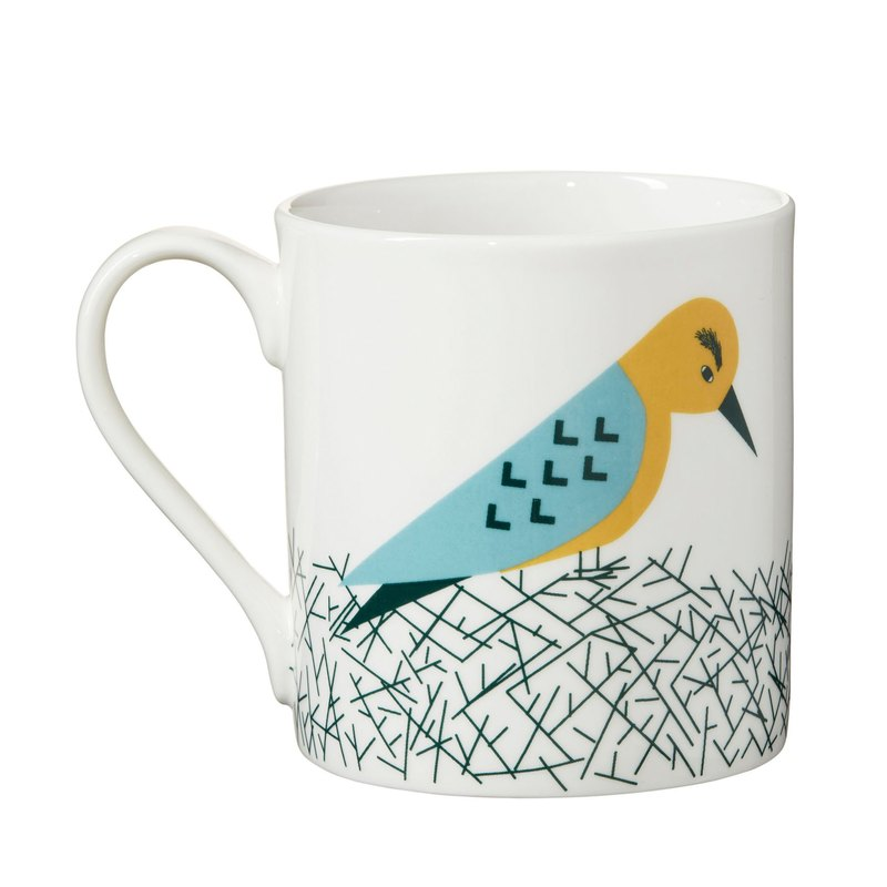Nest bone china mug