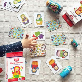 SIMPLE RULES - Russian Dolls - Russian Kids Board Games - Strengthening STEAM Education
