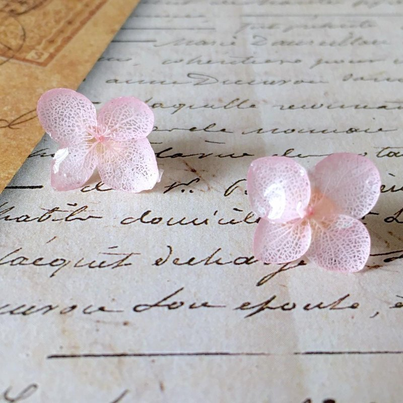 Sakura * Hibari hydrangea earrings