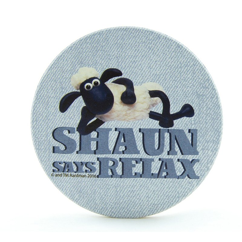 Shaun The Sheep - Sucking Coaster: [Easy] (round / square), EB1AI04
