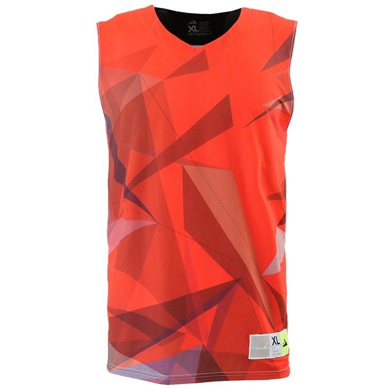 Tools Samurai Sublimation Basketball Wear #红#Basketball Tops
