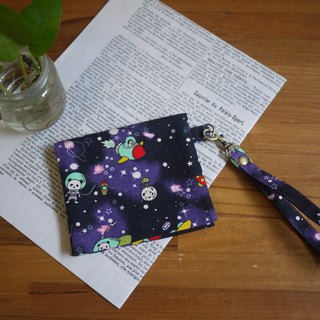 The best choice for storing personal items = paper/cotton storage bag = cosmic walk panda = purple