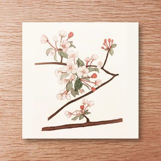 Universal card - spring - cherry blossoms