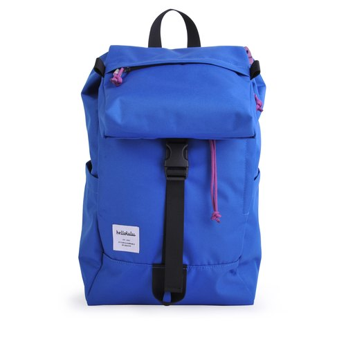 Hellolulu-Sutton-All Day Backpack (Color Blue)
