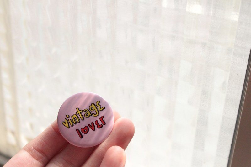 vintage lover / badge
