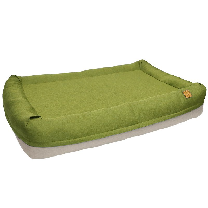 Lifeapp Air Castle Air Bed / Mustard Green / M Complete set of removable and washable