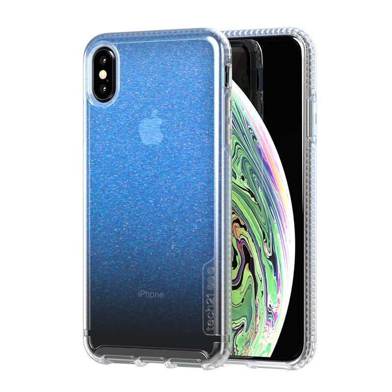 British Tech21PURE iPhone Xs anti-collision hard protective case (5056234707470)