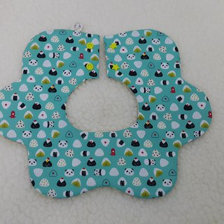 Animal rice ball big cloud pocket / baby bib / saliva towel