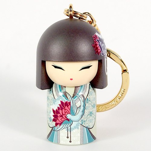 Key ring - Azumi kind and gentle (Kimmidoll and blessing doll key ring)