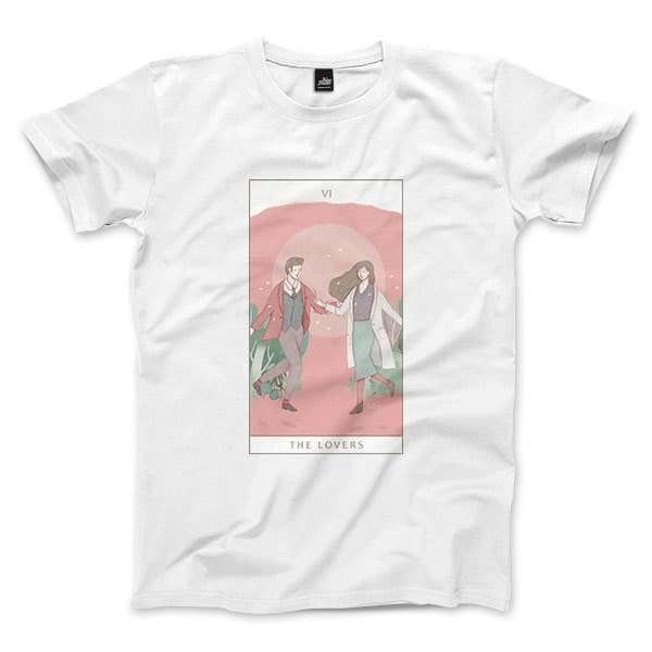 VI | The Lovers - White - Unisex T-Shirt