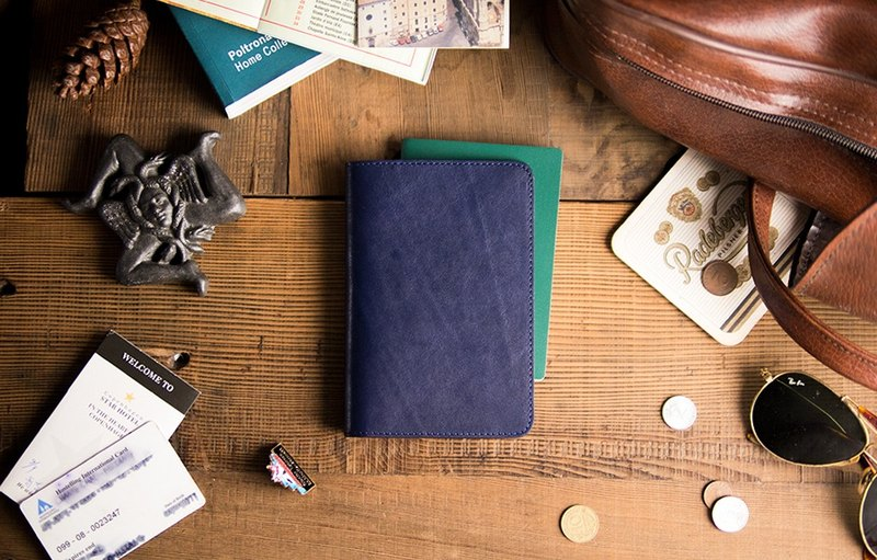 Alto Passport Holder - Passive Holder - Navy Blue