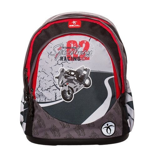 European child care backpack / leisure series - road racing