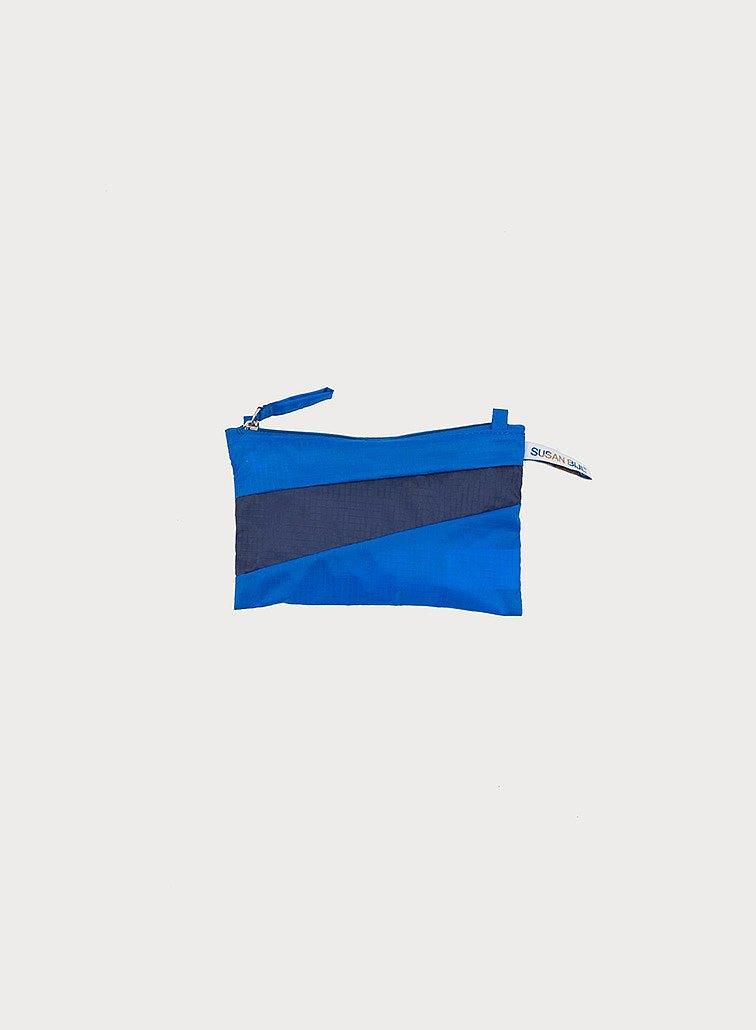 Pouch, Blue & Navy 防潑水輕量包 藍/深藍