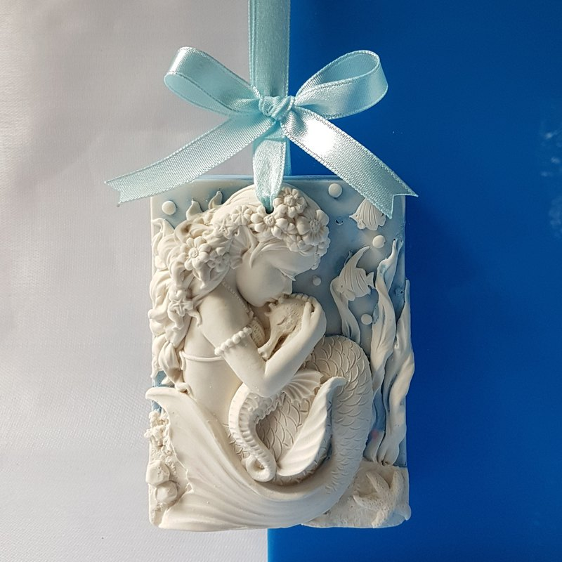 Aroma Stone, home decor, Wall plaque - Baby Mermaid Arista