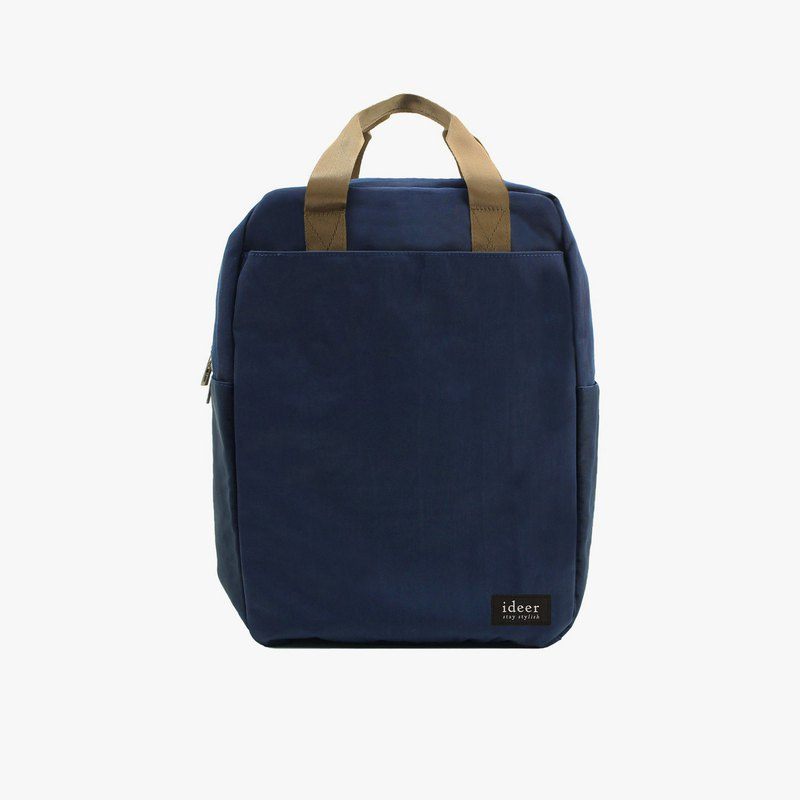 Dark blue water repellent ultra light nylon backpack notebook computer backpack computer bag travel bag
