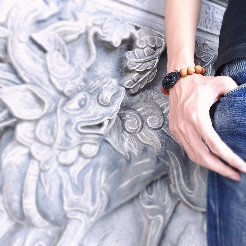 The myth of Tibetan Double Dragons gemstone bracelet | Limited Amount