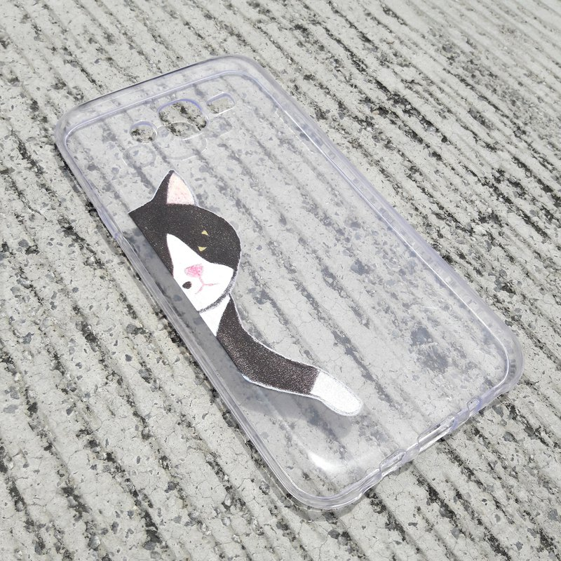 [Love 痣 black cat - air pressure drop mobile phone shell] Iphone6 ​​spot
