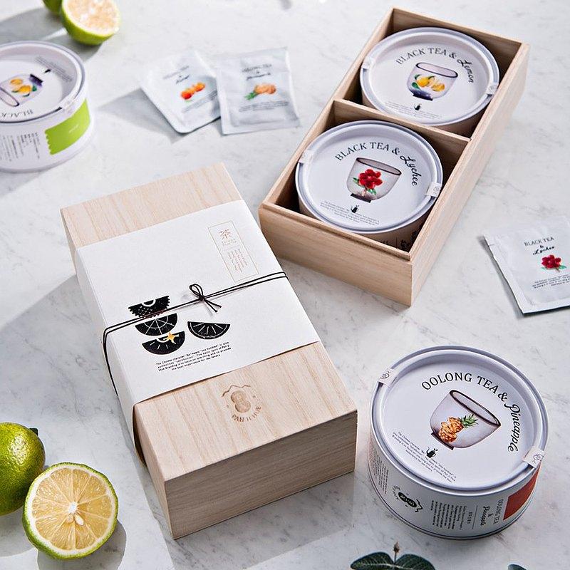 【百二歲】客製禮盒 -良辰雙享 / 水果系列(自由搭配)