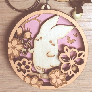 MuMu Sweety ✿ Cacalia and Sakura dance / key ring