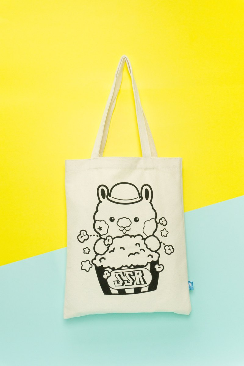 Star Rabbit SingSing Rabbit Popcorn Canvas Bag