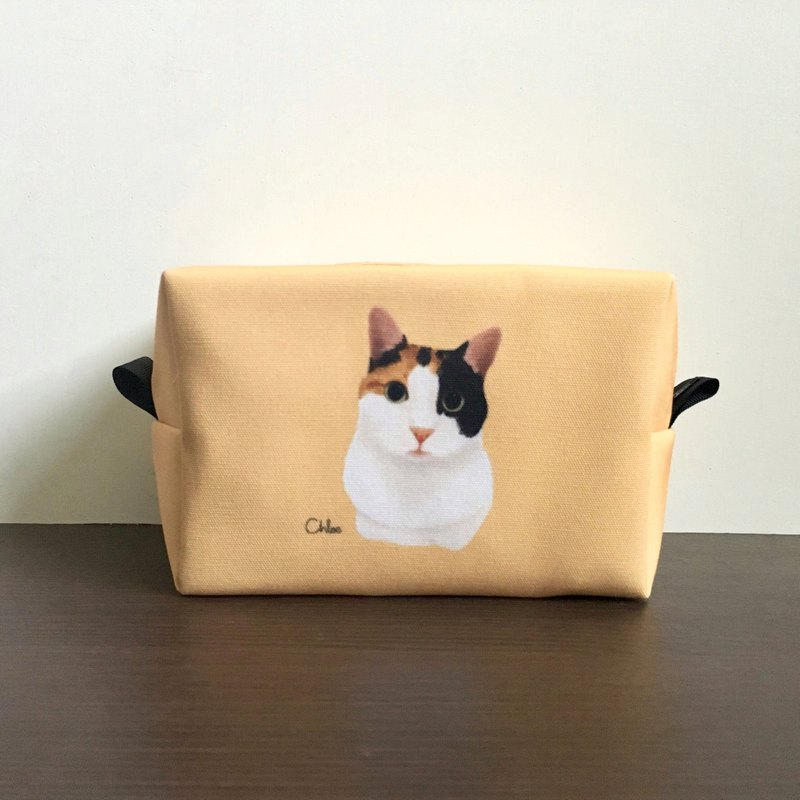 Classic Wang Hao cosmetic bag / storage bag - three cats
