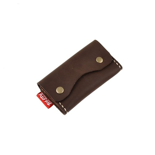 [] U6.JP6 handmade leather - hand-made leather stitched hand sewn purse / credit card holder / Universal package (for men and women)