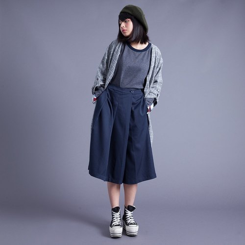 Hong Kong Design DISCOUNTS seven wide pants (blue)