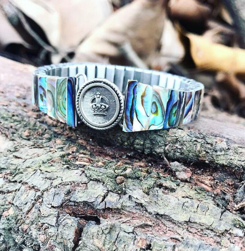 【Lost And Find】Natural  abalone bracelet