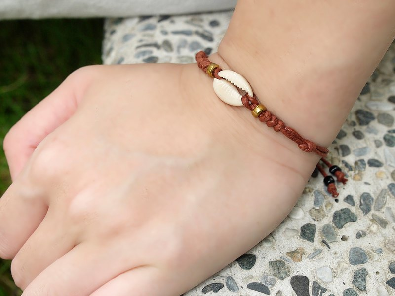 Cherishing Baby Bracelet - Coffee