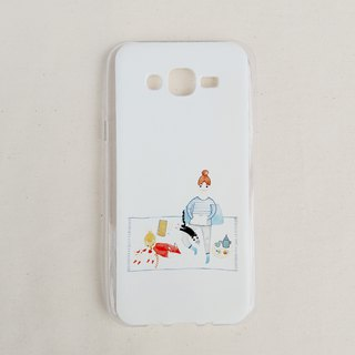 [Shiba Inu. Fox. Cat - Double Mobile Shell] Iphone6 ​​B transparent spot do not have to wait