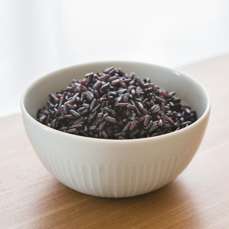 Wuzhan (black rice, medicine rice, longevity rice) - 1 kg single bag