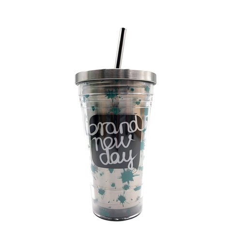 Stainless Steel Tumbler - Brand New Day