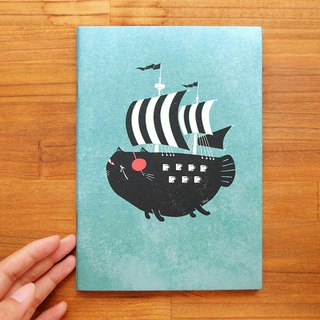Catfish Pirate Notebook