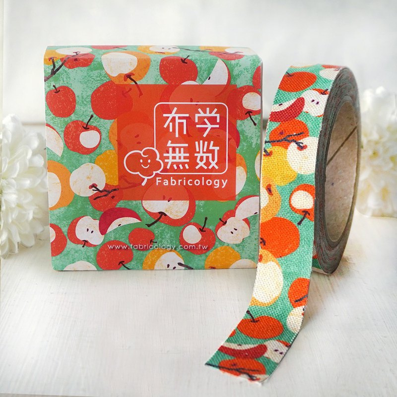 Cloth tape - autumn fruit [when fruit is ripe - green]