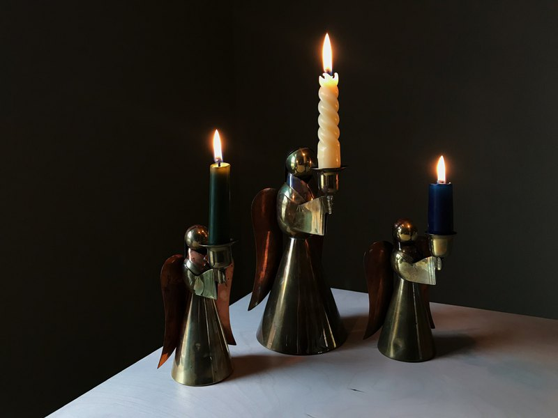 Early candlestick / angel's blessing