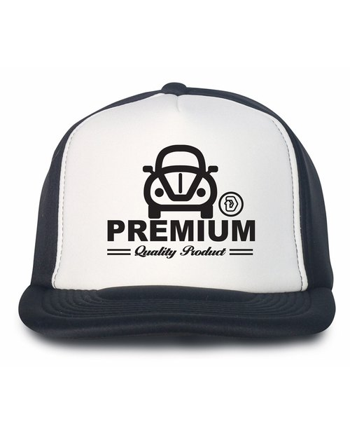Black / White Baseball Cap black / white baseball cap, printed with a unique pattern Q edition car