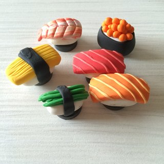 Grip sushi clay / combination / magnet / sushi family
