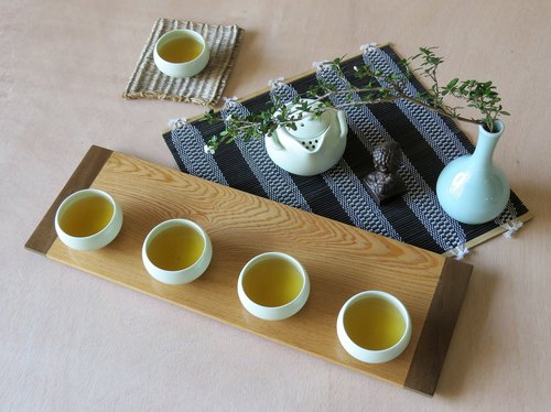 HO MOOD Deconstruction Series - Handmade Wood Tea Tray