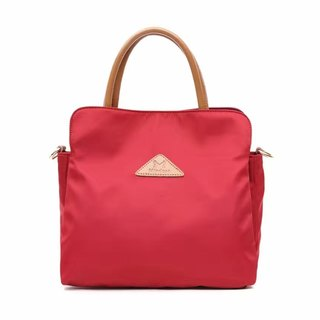 [Wedding essentials] simple anti-water splashing bag red shoulder bag two-style backpack bride bridesmaid package - multi-color optional # 1019