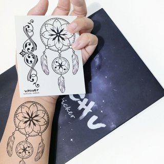 TU tattoo sticker - DREAMCATCHER / tattoos / waterproof tattoo / Original /