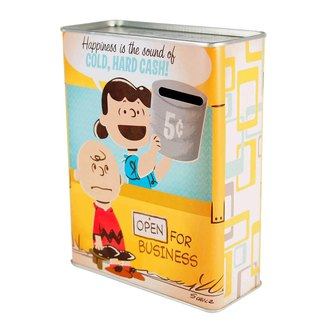 Snoopy Tin Bank (Hallmark-Peanuts Snoopy Storage/Others)