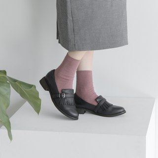 Fringe Loafers_Black