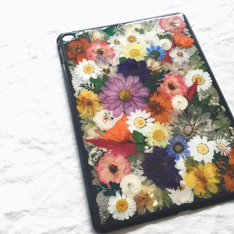 |Souvenirs | original handmade eternal flower flower embossed Apple Tablet iPad air2 dry flower holiday gift