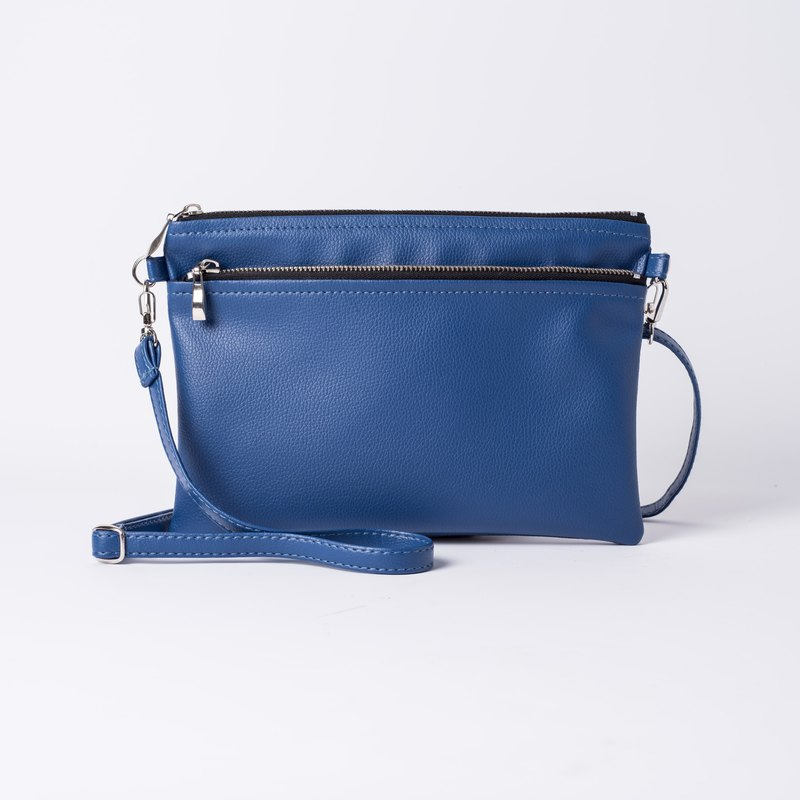 Easy to carry double back/hand bag dual purpose Royal blue / Royal blue
