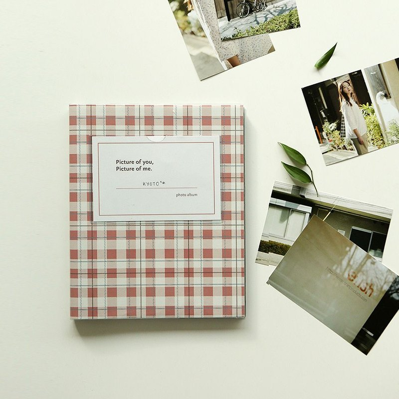 Afternoon time self-adhesive album V1-19 vintage check, E2D16920