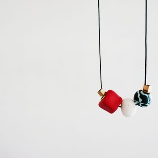 Red & Green Necklace-44
