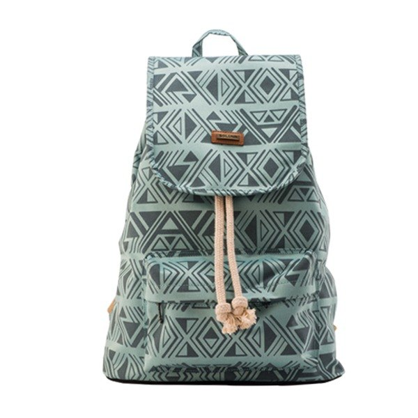 SOLUNA Egypt Series Drawstring Backpack(blue Pharaoh)