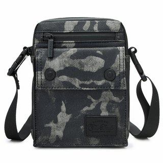 [THE DUDE] Image Lightweight Pocket Waist Bag - Green Camouflage
