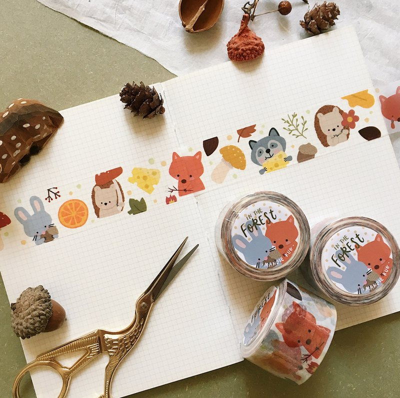 In The Forest - Squeaky Washi Tape